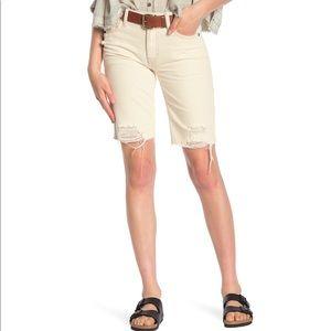 Free People Caroline Cutoff Denim Shorts